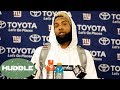Odell Beckham Jr LEAVING the Giants After This Season?! -The Huddle