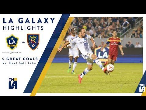 Video: Five Great Goals: LA Galaxy vs. Real Salt Lake