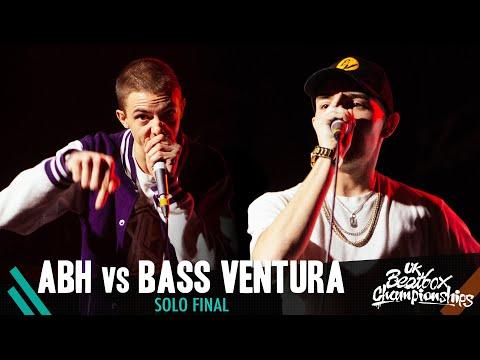 ABH vs Bass Ventura | Solo Final | 2019 UK Beatbox Championships