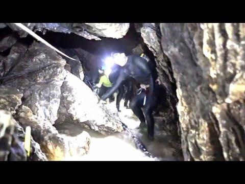 Thailand: Navy-Seal-Video zeigt Rettung der eingeschlossenen Fußballmannschaft aus der Höhle