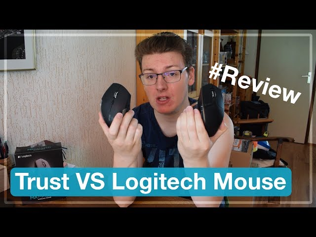 Trust VS Logitech Mouse 🖱 | HTech Review