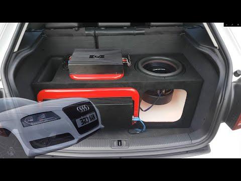 Audi A3 With Bassface XPL12.1 Subwoofer