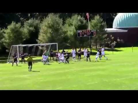 Men's Soccer at Bowdoin Highlights 9-20-15