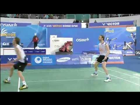F – MD – M. Boe / C. Mogensen vs Ko S.H. / Lee Y.D. – 2013 Victor Korea Open