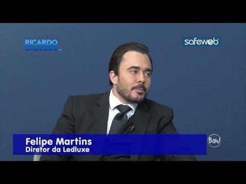 Ricardo Orlandini entrevista o diretor da Ledluxe Felipe Martins, fabricante de lâmpadas e luminárias em tecnologia LED.