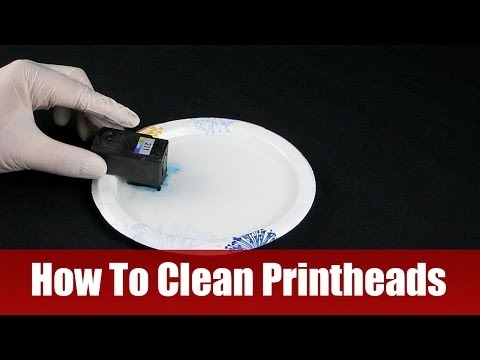how to unclog hp printer nozzles