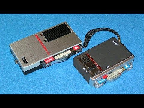 Кассетные диктофоны Memocord K60 и Memocord mini K177 - Cassette recorders