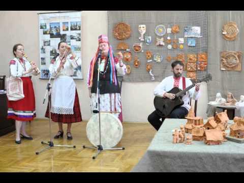 Открытие выставки керамики в Гомеле