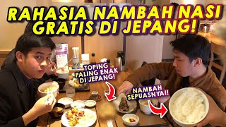 Video WOW! Makan Teishoku di Jepang, Nasi SEPUASNYA!! | Kuliner Jepang MP3, 3GP, MP4, WEBM, AVI, FLV Januari 2019