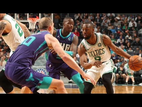 Kemba  Walker: 14 PTS, 6 AST  Boston Celtics vs Charlotte Hornets  2019-20 NBA HIGHLIGHTS