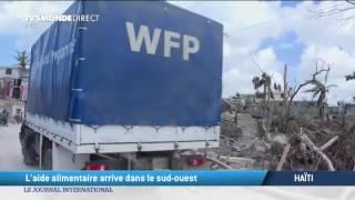 Ouest Haiti  city images : L'aide alimentaire est arrivée dans le sud-ouest d'Haïti.