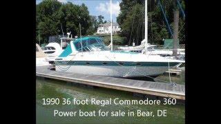 Download Lagu 1990 36 foot Regal Commodore 360 Power boat for sale in Bear, DE. $25,000. Mp3