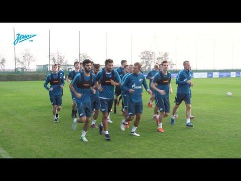 «Зенит-ТВ»: вечерняя тренировка сине-бело-голубых в Дубае - DomaVideo.Ru