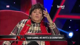 Gonzalo Cáceres desclasifa su encuentro con Juan Gabriel