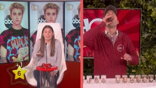 "It's Tracy vs. Andy in one of Ellen's favorite games. For every celebrity Tracy guesses correctly, Andy must take a shot!Now you can play ""Hot Hands"" at home! Get it in the App Store and Google Play.App Store: http://ellen.tv/HotHandsGoogle Play: http://ellen.tv/HotHandsApp"