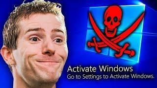 Video Why Does Linus Pirate Windows?? MP3, 3GP, MP4, WEBM, AVI, FLV Januari 2019