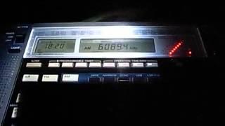 6090kHz Radio Nigeria With Radio Amhara, Ethiopia (18:10UTC, June 24, 2013 )