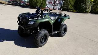 9. 2017 Honda Rancher 420 DCT / IRS 4x4 ATV (TRX420FA5H) Walk-Around Video | Review @ HondaProKevin.com