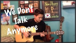 Video We Don't Talk Anymore - Charlie Puth Ft. Selena Gomez - Fingerstyle Guitar Cover MP3, 3GP, MP4, WEBM, AVI, FLV Agustus 2018