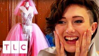 Video One Of A Kind Biker Chick Wedding Dress | Gypsy Brides US MP3, 3GP, MP4, WEBM, AVI, FLV Maret 2018