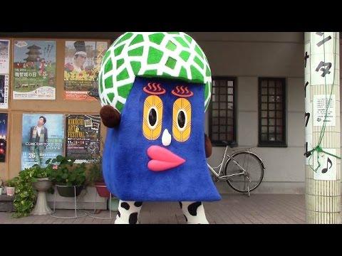 子ども泣くほど不気味な「きくちくん」 地元熊本で人気