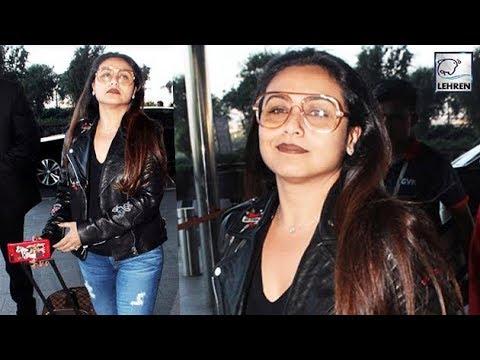 Rani Mukerji Looks Like A ROCKSTAR At The Airport