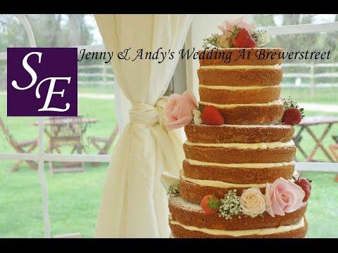 Jenny & Andy's Wedding At Brewerstreet Farmhouse, Surrey