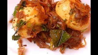 Egg Roast - Kerala Recipe - By Vahchef @ Vahrehvah.com
