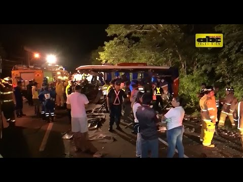 Trágico accidente deja seis muertos en Pedrozo