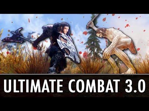 Skyrim Mod: Ultimate Combat 3.0 (видео)
