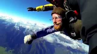 Fox Glacier New Zealand  city photo : Fox Glacier Skydive 16.500 ft./ 5000m. Westland, New Zealand