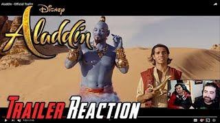 Aladdin Angry Trailer Reaction!