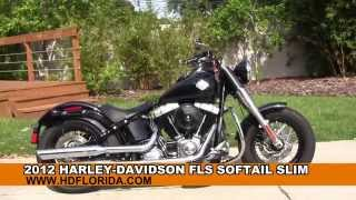 7. Used 2012 Harley Davidson Softail Slim Motorcycles for sale
