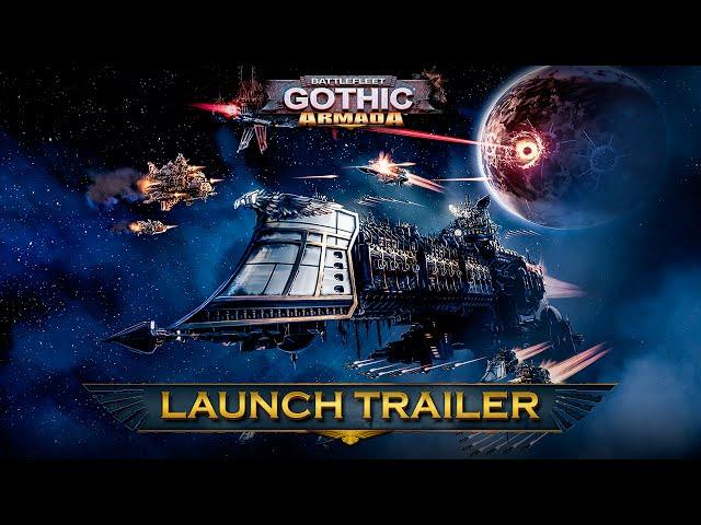 Видео к игре Battlefleet Gothic Armada