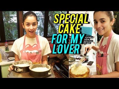 Alia Bhatt Bakes SPECIAL CAKE For Ranbir Kapoor On