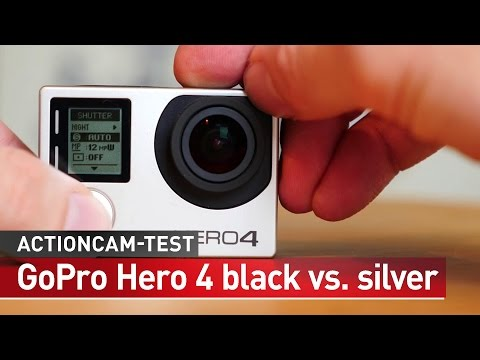 GoPro Hero4 black vs. GoPro Hero4 silver - Praxis-Test deutsch | CHIP