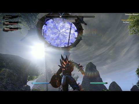 """The Elder Scrolls Online Gameplay """"GUERRERO MATADRAGONES"""" Alto Elfo (TESO BETA Gameplay)"""