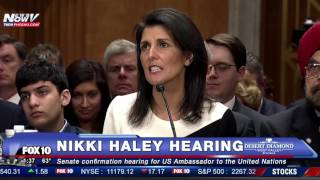 MUST WATCH: Nikki Haley Says Ther Will Be NO Muslim Ban, DEFENDS Trump's Position
