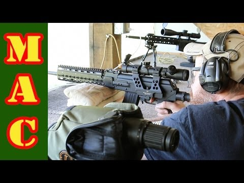 Shooting long range with a 7.62×39 AK