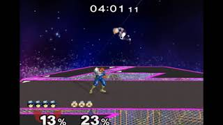 Falcon can grab a crouching Sheik, sometimes