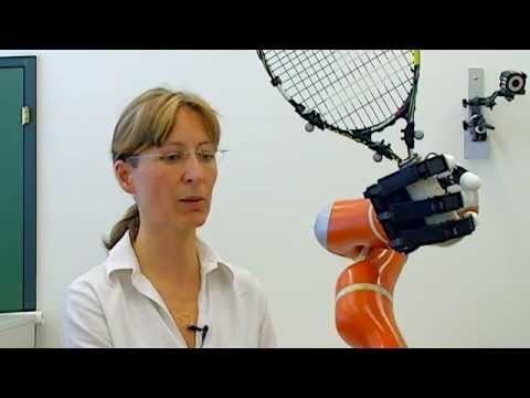 Ultrafast robotic arm catches objects