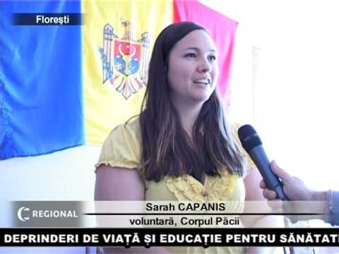 Mesagerii Corpului Păcii în instituțiile de învățămînt din Florești