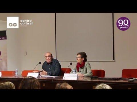 """Laia de Ahumada va parlar sobre """"Espiritualitat i sostenibilitat"""" a Terrassa"""