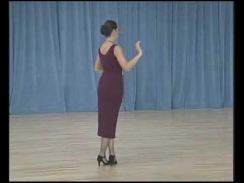 основные фигуры аргентинского танго - 07 Ochos para adelante(2 часть)