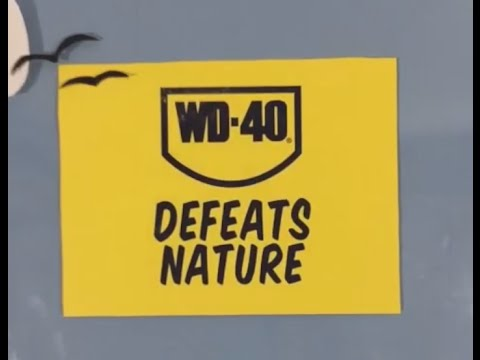 WD-40® Defeats Nature by Helping Remove Bird Poop