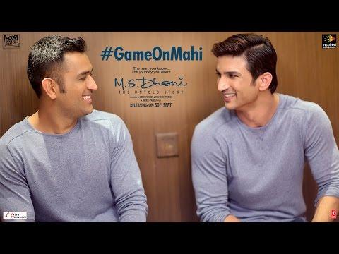 M.S.Dhoni - The Untold Story | Feat M.S.Dhoni & Sushant Singh Rajput | Game on Mahi
