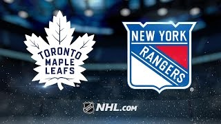 Leafs ride special teams to 4-2 victory over Rangers