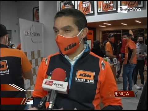KTM inauguró show room en Cuenca y presentó Team Factory Racing