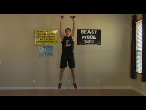 60 Minute Workout at Home – Strength Training, Cardio Exercise, & Ab Exercises at Home Workouts