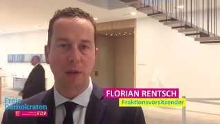 Video zu: Florian Rentsch über Lösungsansätze in der Flüchtlingskrise